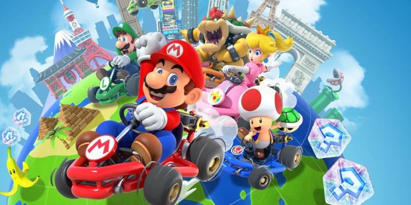 Mario Kart Tour ajoute des courses par équipe