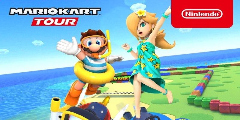 L'été dans Mario Kart Tour
